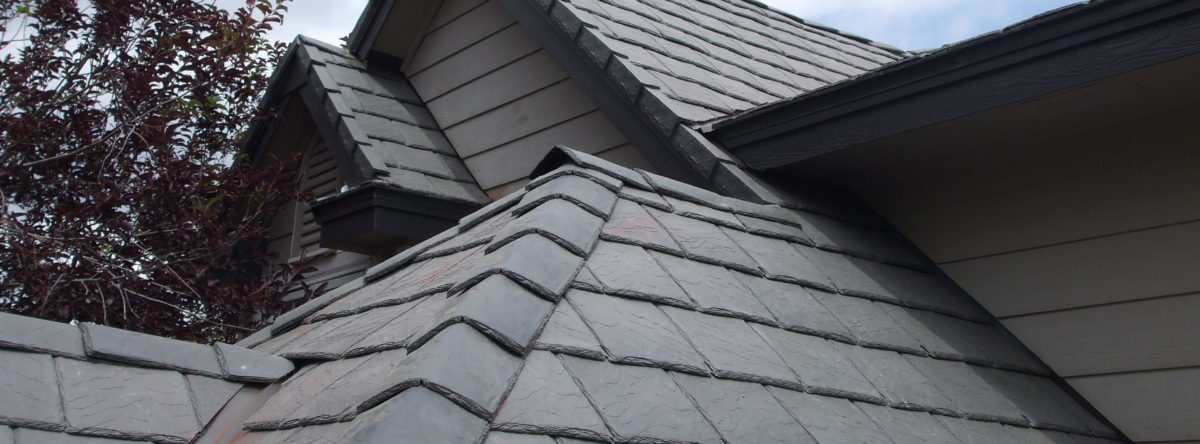 Slate Synthetic Roof Advanced Exteriors