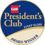 GAF President's Club Award Winner Badge
